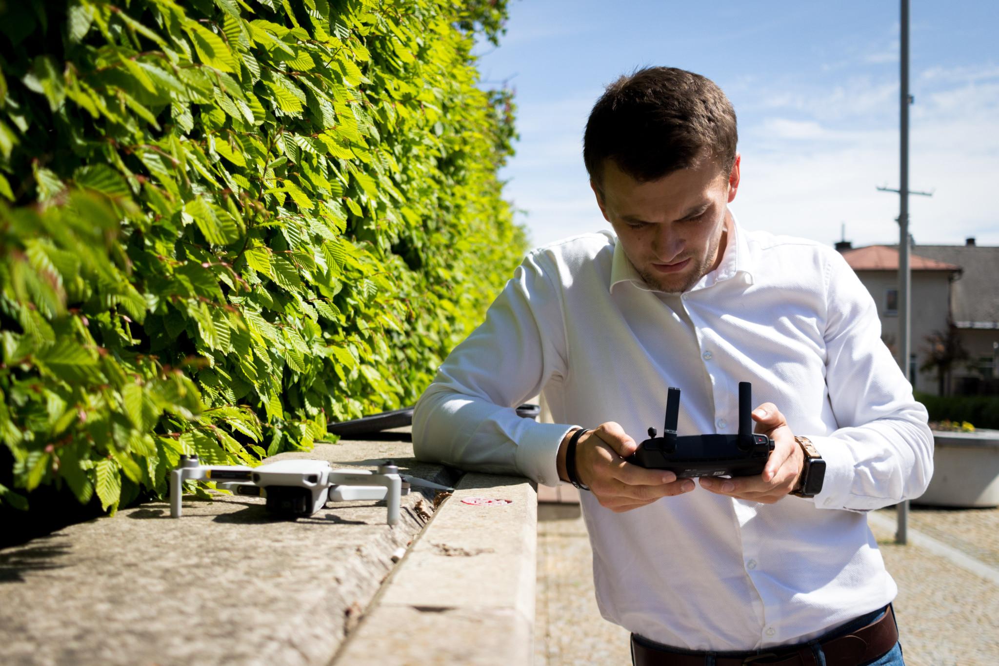 Videoprohlídka nemovitosti pomocí dronu