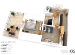 3D-layout 2np